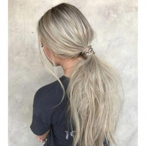 Fake Ponytail Hairstyles