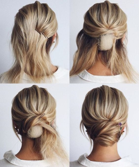 How To Do A Chignon Hairstyle