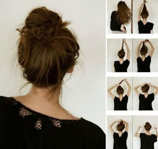 How To Get The Messy Hair Look