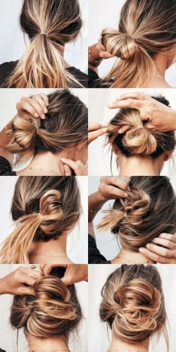 How To Style Messy Hair