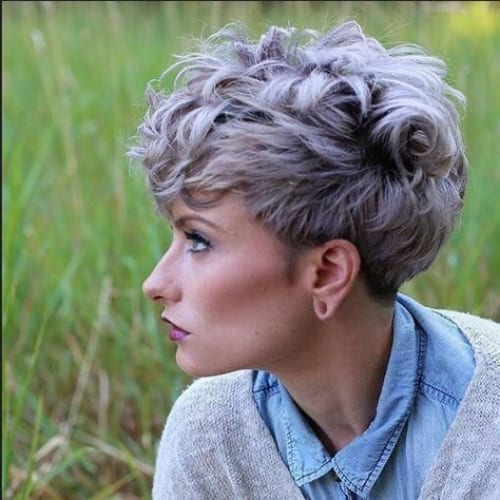 Layered Messy Pixie Cut For Fine Hair