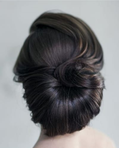 Low Chignon Hairstyle