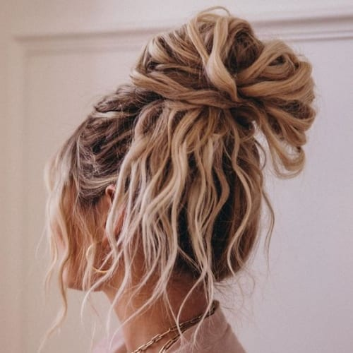 Messy Updos For Long Hair