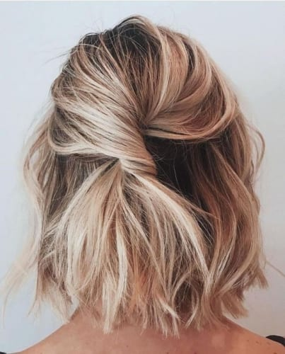 Messy Short Twisted Style