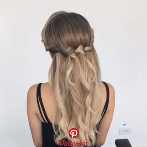 Pretty Hairstyles For Thanksgiving - Twist it Up