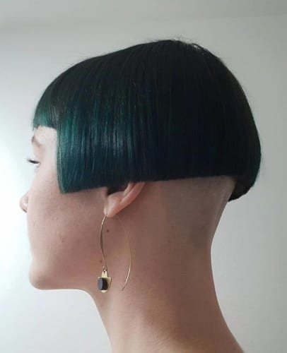 Shaved Back Of Head Hairstyles For Women