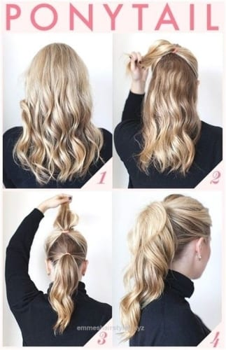 Simple Ponytail Hairstyles For Everday Wear