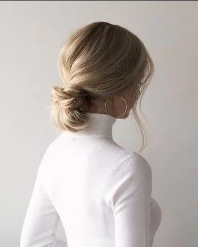 Sleek Chignon Hairstyles