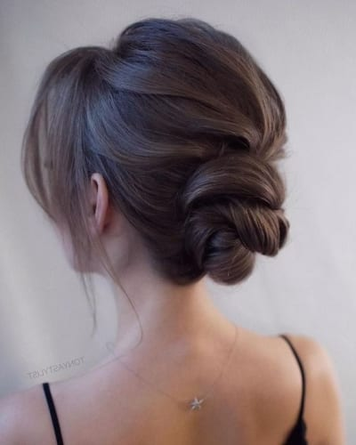 Twisted Chignon Hairstyle