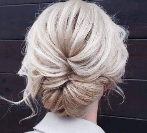 Wavy Chignon Hairstyles