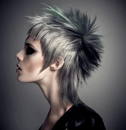 Punk Mullet Hairstyle