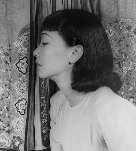 The Anna May Wong hairstyle