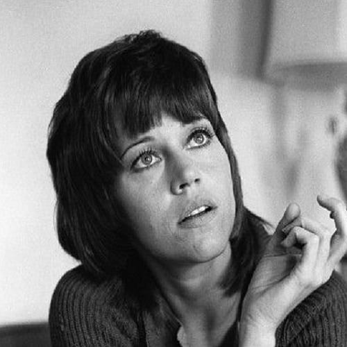 Jane Fonda Mullet Style