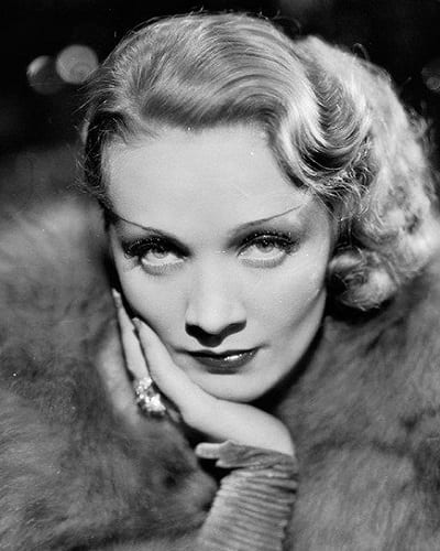 The Marlene Dietrich hairstyle
