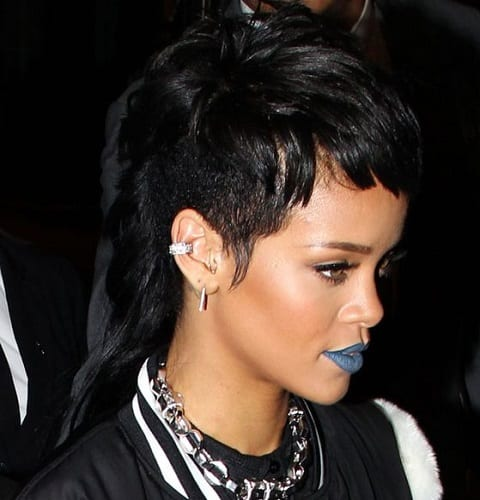 Rihanna Mullet Style