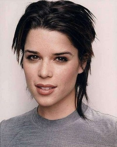 Neve Campbell Mullet Hairstyle