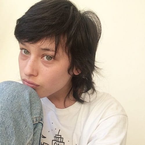 Androgynous Mullet Hairstyle